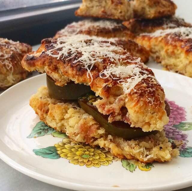 Parmesan & Prosciutto Scones