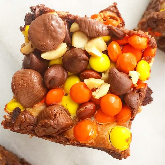 Ultimate Chocolate-Peanut Butter Brownies