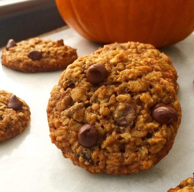 My Favorite Pumpkin Oatmeal Cookies