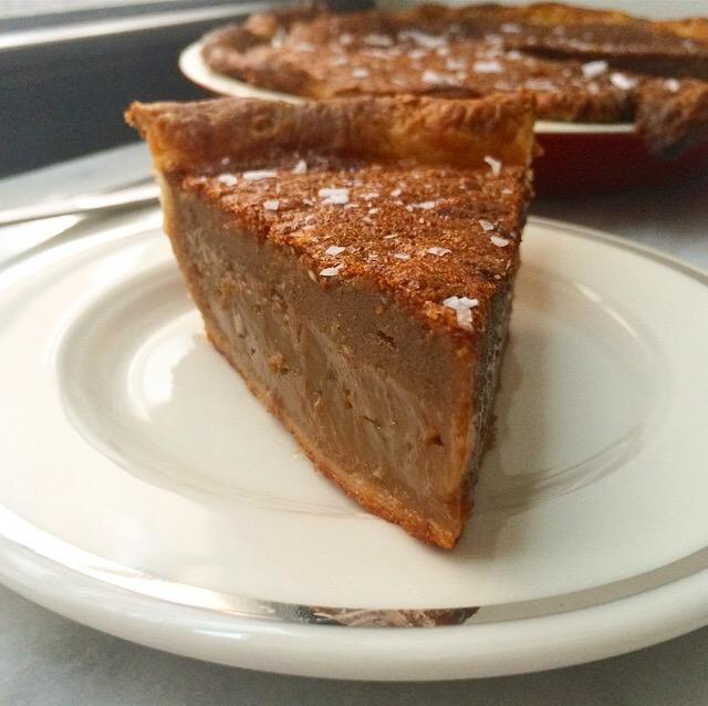 Salted Butterscotch Pie