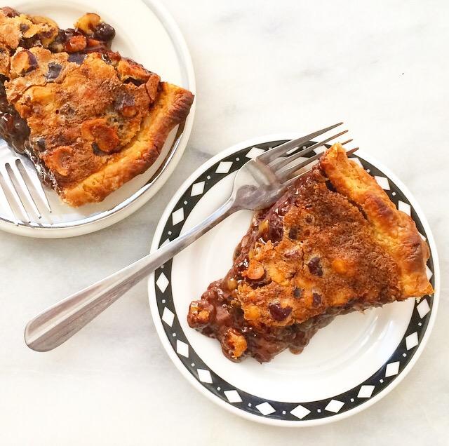 Chocolate Hazelnut Pie