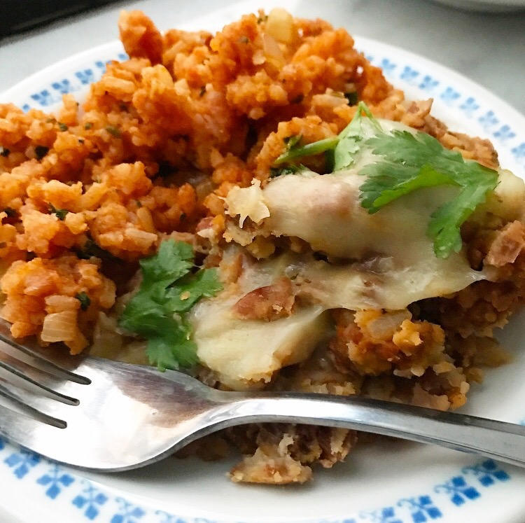 Chorizo Refried Beans & Tex-Mex Rice