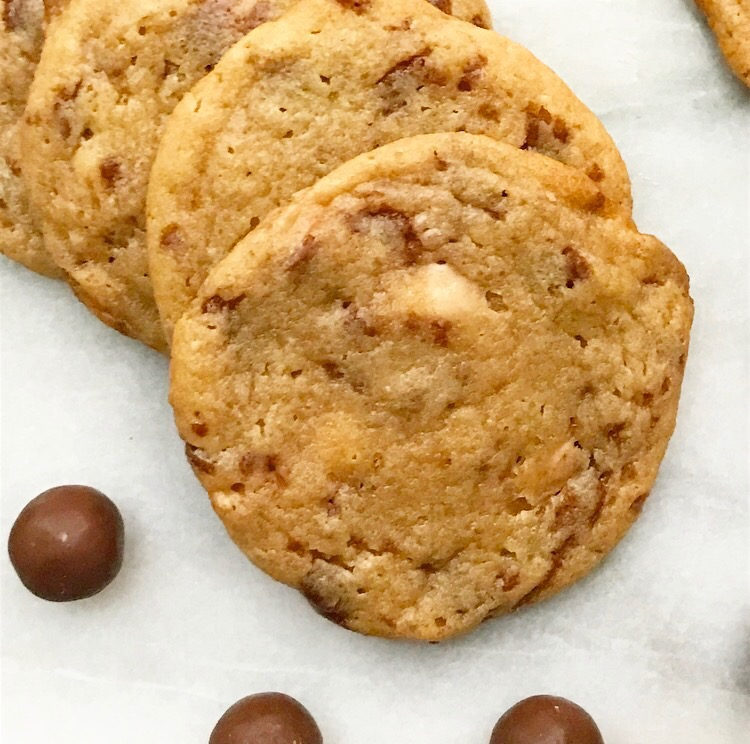 Malted Whoppers Cookies