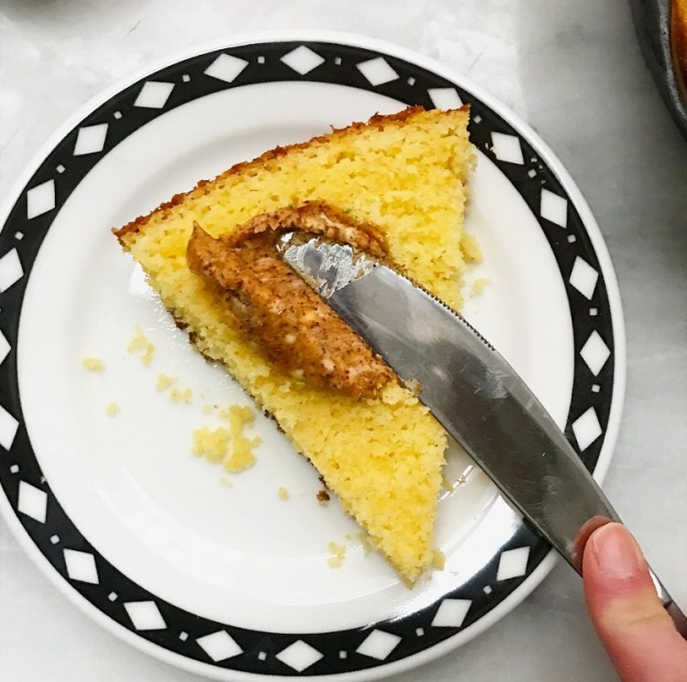 Southern-Style Cornbread & Chipotle-Lime Honey Butter