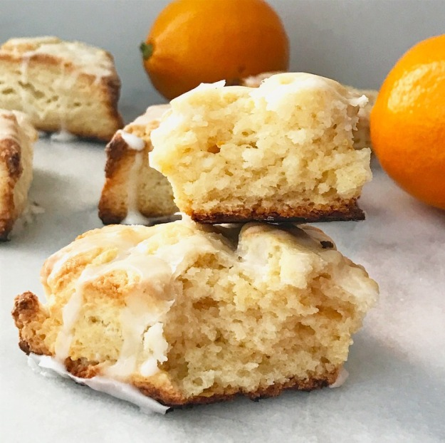 Meyer Lemon Cream Cheese Scones