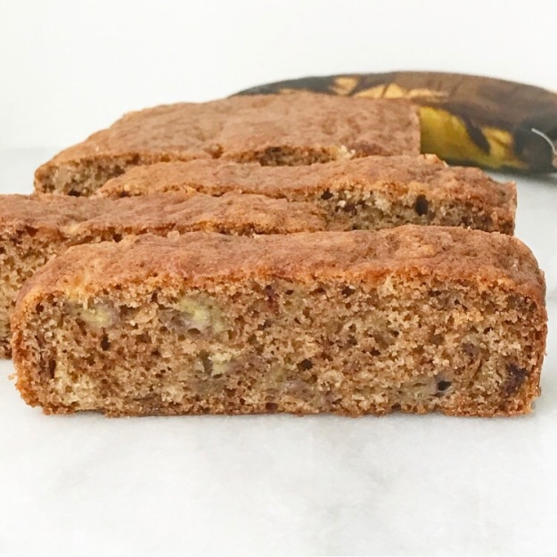 One Banana Banana Bread {Vegan}