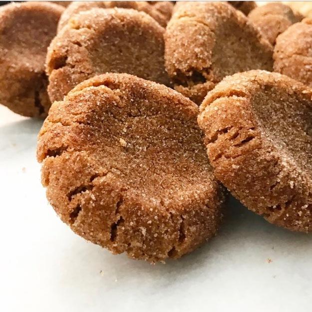 Cashew Butter Snickerdoodles {Vegan & Gluten-Free}