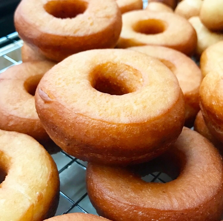 Overnight Yeast-Raised Doughnuts