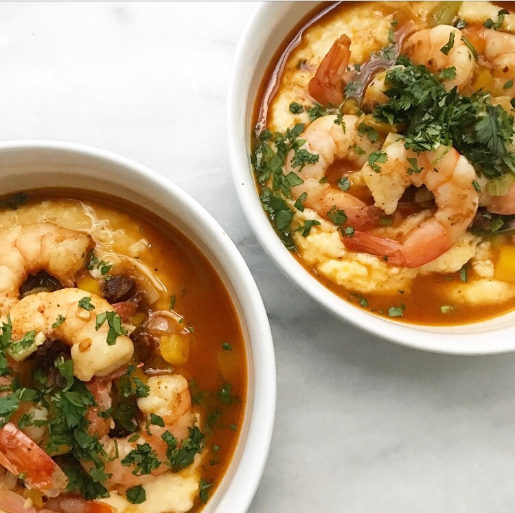 Southwestern-Style Shrimp & Grits