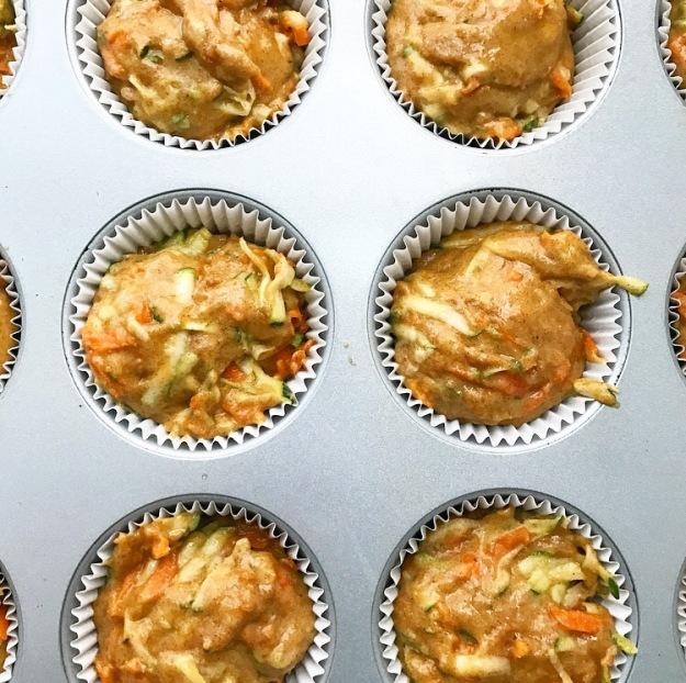Carrot-Zucchini Muffins