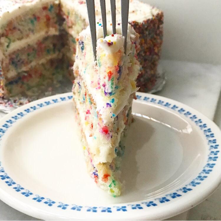 Funfetti Layer Cake