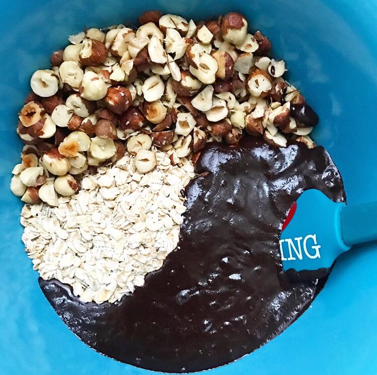Salted Chocolate Hazelnut Granola