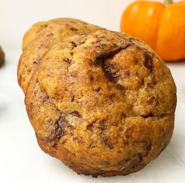 Pumpkin Chocolate Chunk Cookies {Vegan} – E2 Bakes Brooklyn