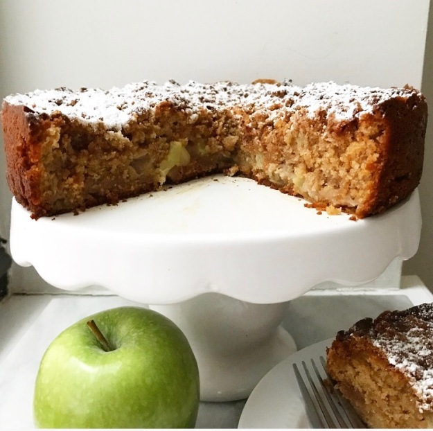 Apple Cider Coffee Cake