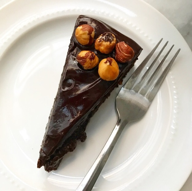 Flourless Chocolate Hazelnut Cake