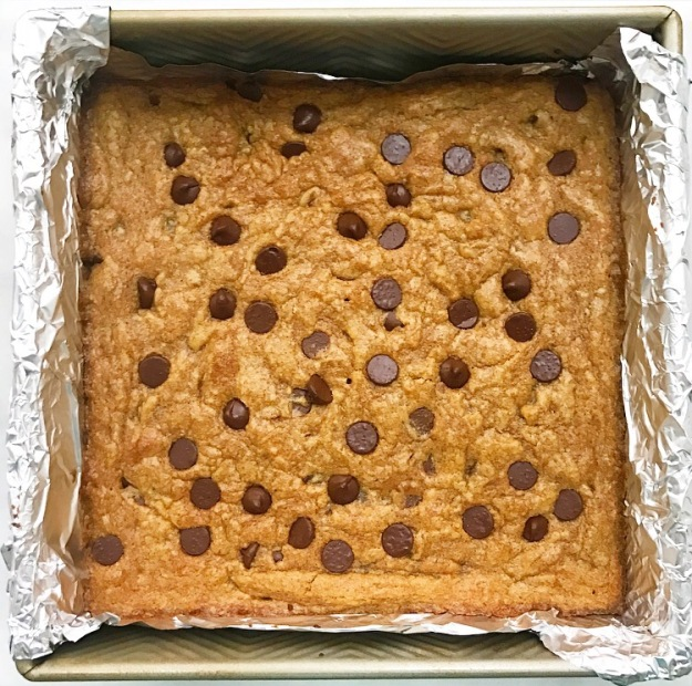 Pumpkin Chocolate Chip Blondies