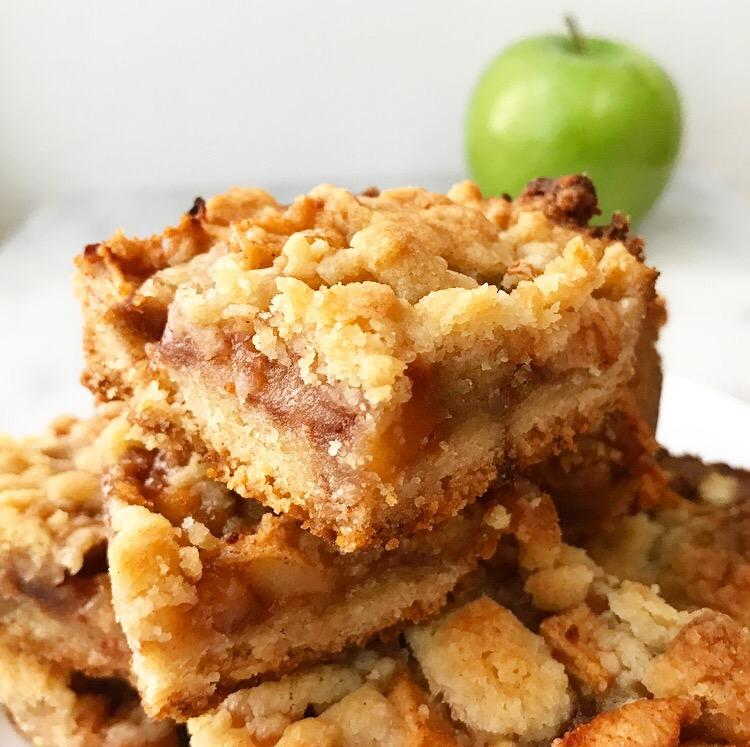 Apple Shortbread Bars