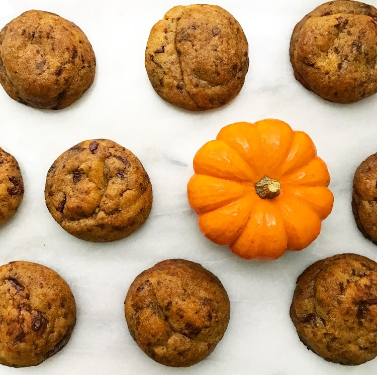 Pumpkin Chocolate Chunk Cookies {Vegan}