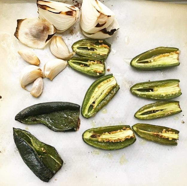 Mushroom Enchiladas with Pumpkin Seed Mole {Pipián Verde}