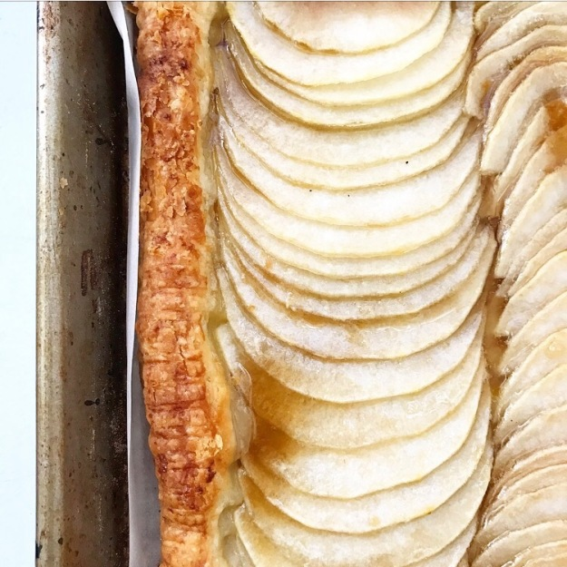 Maple Pear Tart
