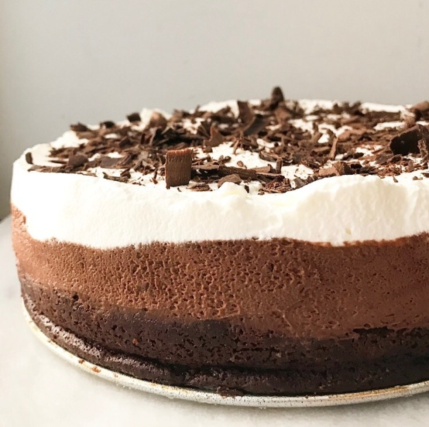 Chocolate Mousse Cake {Grain-Free}