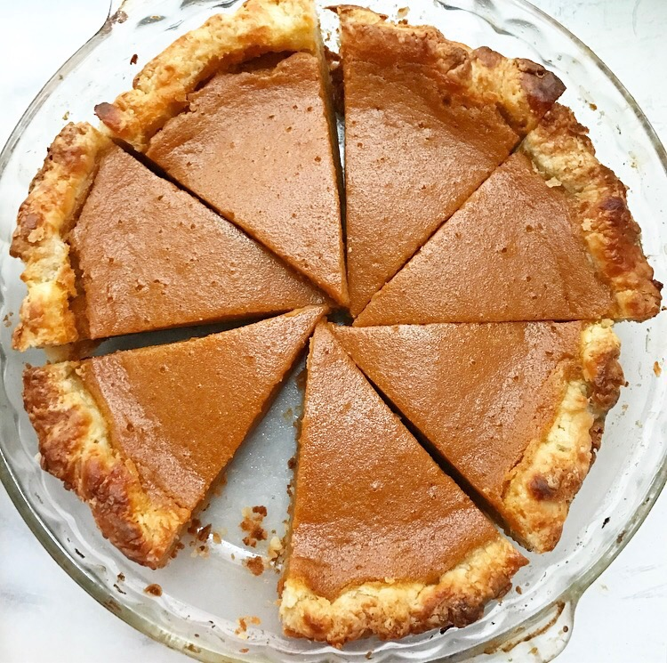 Silky Smooth Sweet Potato Pie
