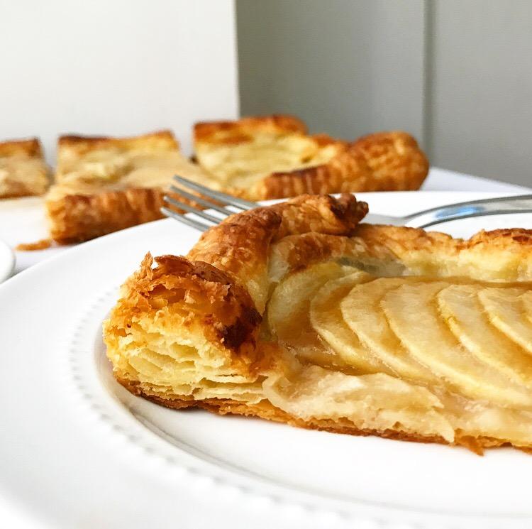 Maple Pear Tart