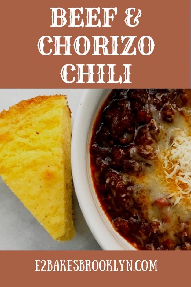 Beef & Chorizo Chili