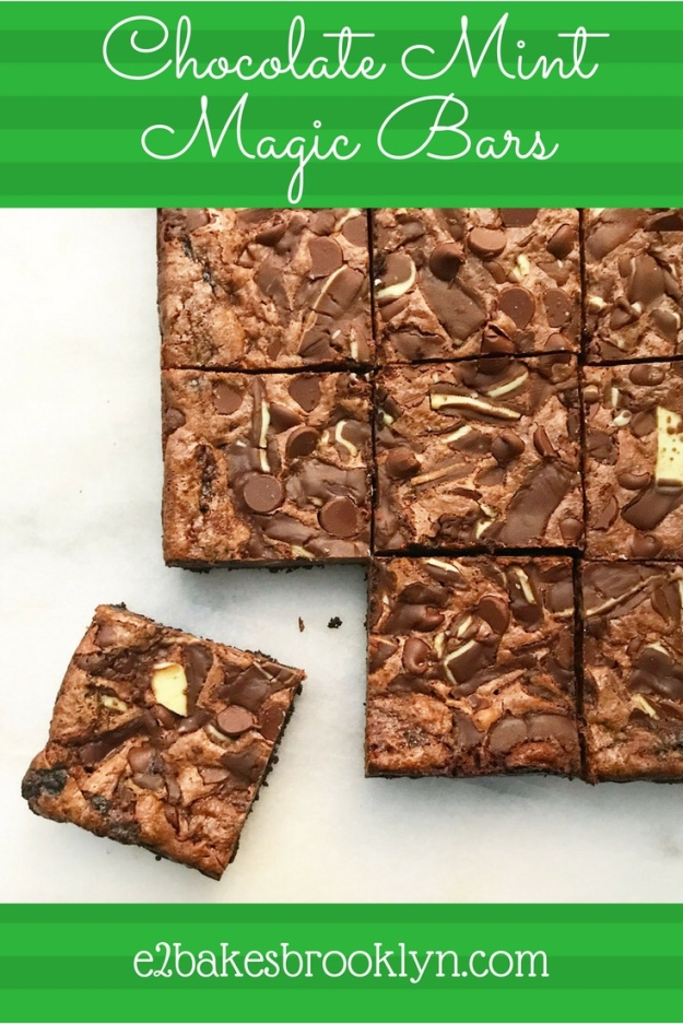 Chocolate Mint Magic Bars