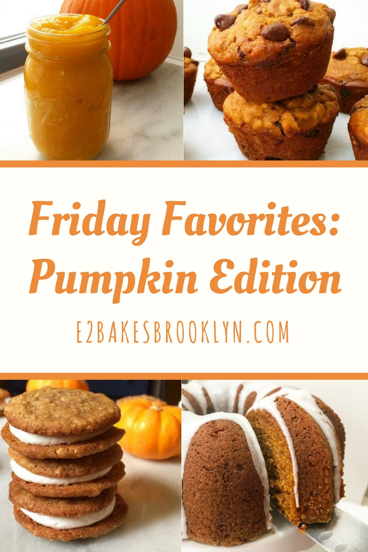 Friday Favorites: Pumpkin Edition