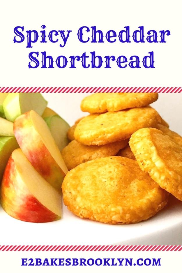 Spicy Cheddar Shortbread