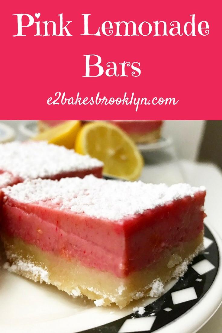 Pink Lemonade Bars