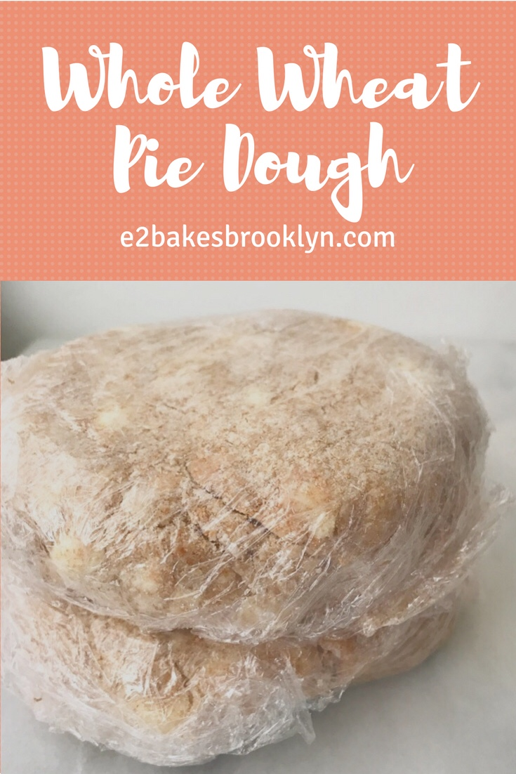 Whole Wheat Pie Dough