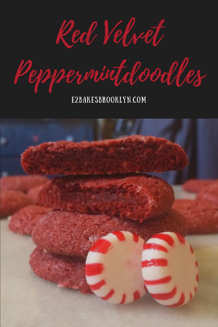 Red Velvet Peppermintdoodles