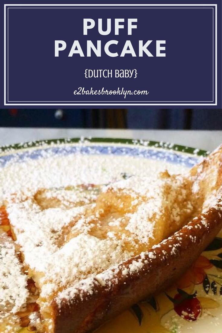 Puff Pancake {Dutch Baby}
