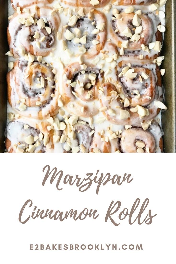 Marzipan Cinnamon Rolls