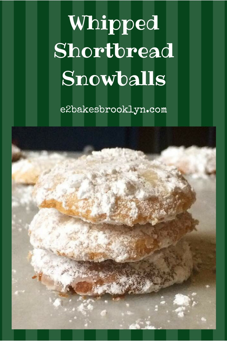 Whipped Shortbread Snowballs