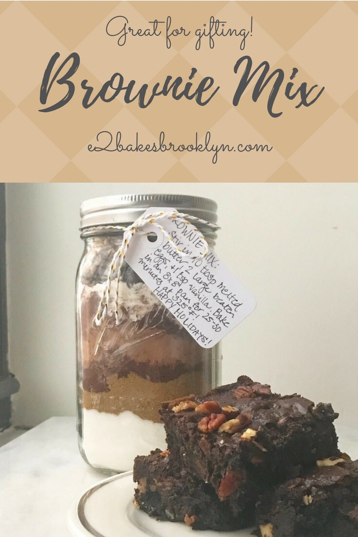 Brownie Mix {Easy Gift Idea}