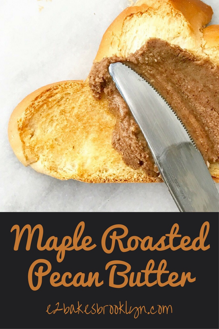 Maple-Roasted Pecan Butter