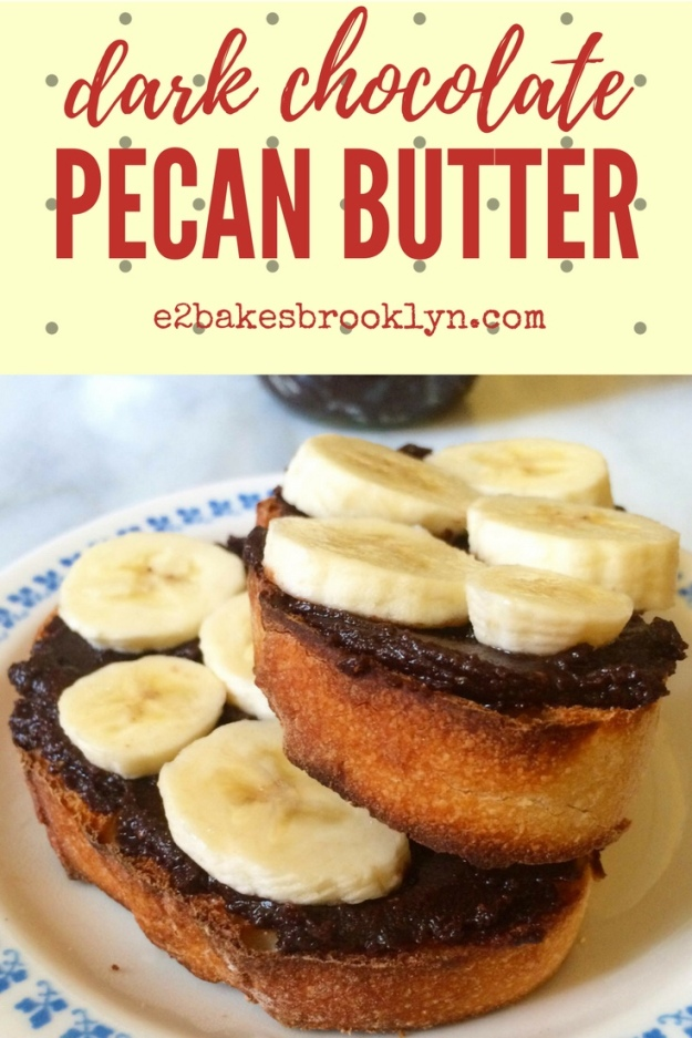 Dark Chocolate Pecan Butter