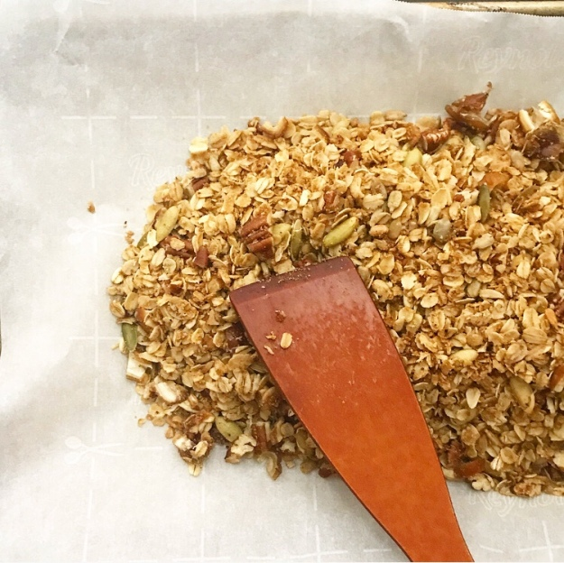 10 Minute Stovetop Granola