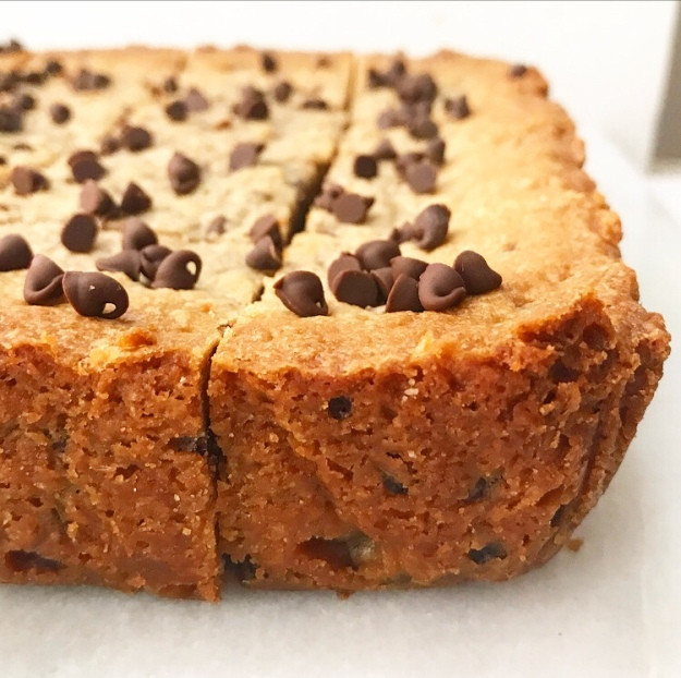 Oreo-Stuffed Peanut Butter Blondies