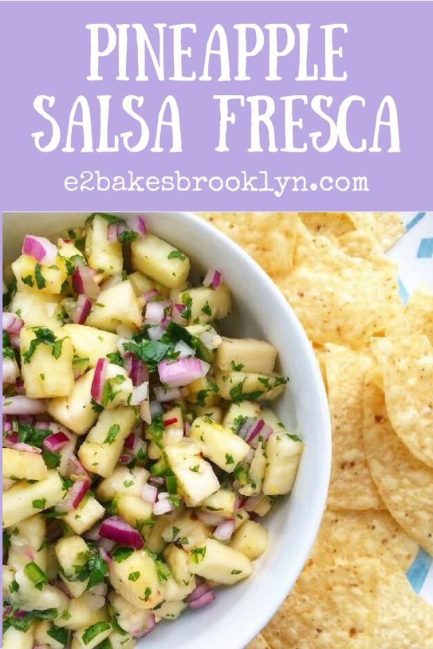Pineapple Salsa Fresca