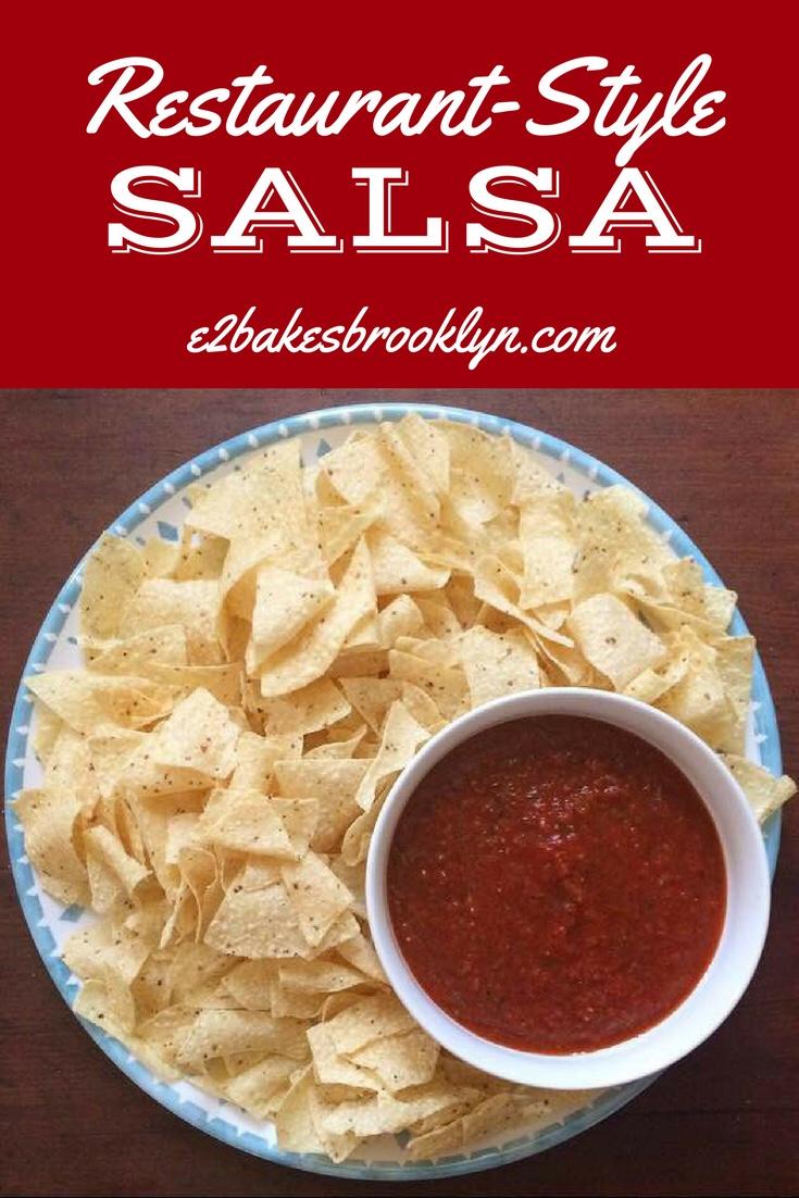 Restaurant-Style Salsa