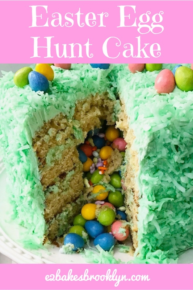 Easter Egg Hunt Cake