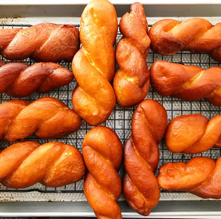 Glazed Doughnut Twists