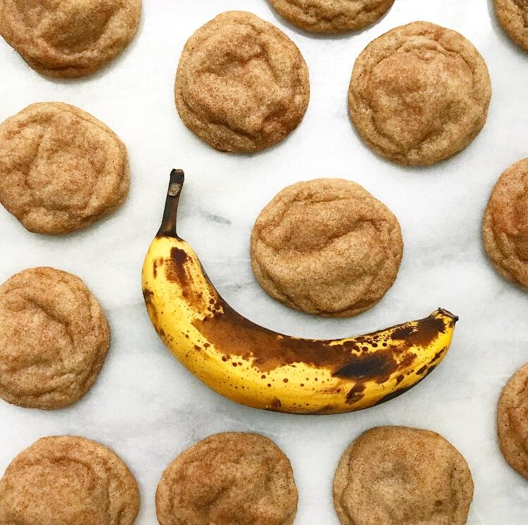 Banana Snickerdoodles