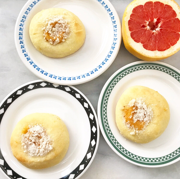 Grapefruit Kolaches