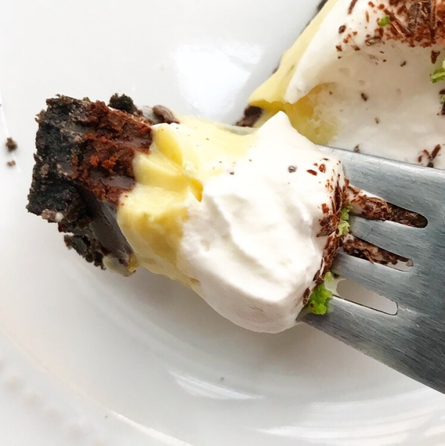Black Bottom Key Lime Pie