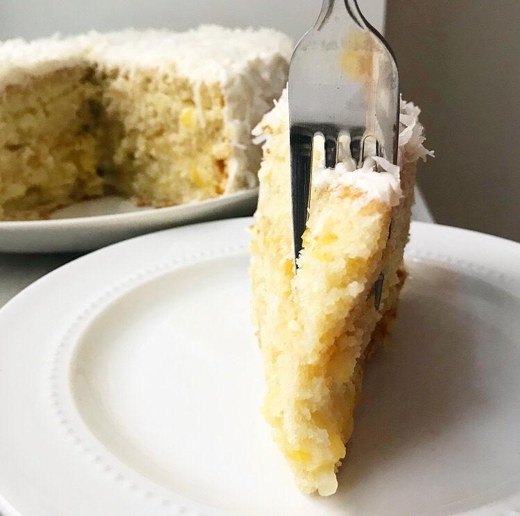 Coconut Pineapple Cake